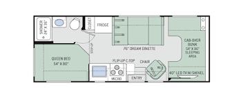 motorhome floor plans freedom elite class c motorhomes floor plans thor motor coach