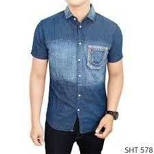 Baju Levis Biru jual kemeja levis model baju modernku