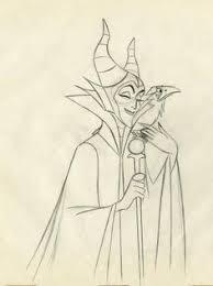 great maleficent sketch by timrogerson villians pinterest