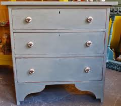 chouchou vintage french country chest of drawers duck egg blue paint