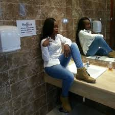 should zambian ladies continue taking selfies in public toilets