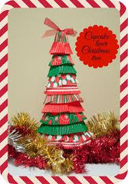 12 days of christmas crafts day 2 cupcake liner christmas tree