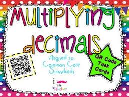 multiplying decimals 29 best teaching math decimals images on multiplying