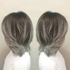 does hair look like ombre when highlights growing out thomas heap on instagram grey ombré hairstyles pinterest