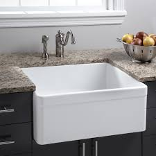 Black Farmers Sink by Brilliant Black Porcelain Kitchen Sink Design Lorihodges Kitchen