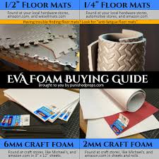 foam buying guide punished props