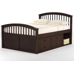 Trundle Bed With Bookcase Headboard Bedding Cool Merlot Full Size Bookcase Captains Bed Frames