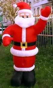 Large Inflatable Christmas Decorations by 8ft New Giant Inflatable Santa Claus 2 4m Father Christmas