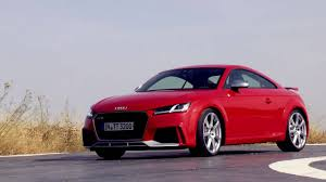 2018 audi tt rs coupe youtube