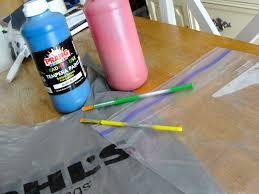 plastic bag monoprints u2013 craft in dc