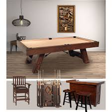 troon pool table game room bar package