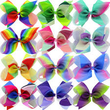 cheap hair bows big 8 inches hair bows for grosgrain boutique
