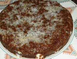 german chocolate upside down cake sunshineonmyshoulder
