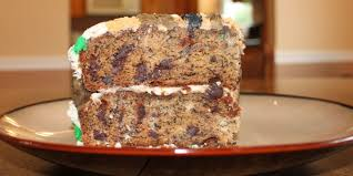 chocolate chip banana cake recipe genius kitchen