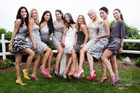 mismatched bridesmaid shoes with high heels ipunya