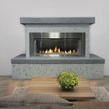 Modern Outdoor Gas Fireplace by Flamecraft Contemporary Outdoor Gas Fireplace Lp