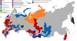 Election 2016 Map by File 1999 Russian Legislative Election Constituency Map Svg