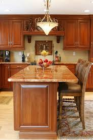 kitchen islands pinterest kitchen idea of the day traditional cherry colored kitchen island