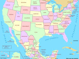 map of us states political map collection gallery