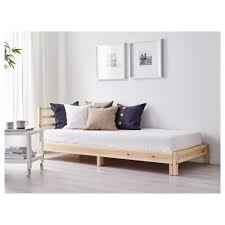 Sofa Bed Mattress Ikea by Tarva Daybed With 2 Mattresses Pine Minnesund Firm 31 1 2x78 3