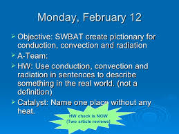 example of conduction convection and radiation