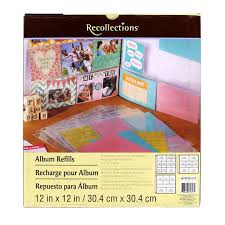 recollections photo album recollections album refill assortment products