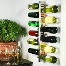 wine bar contemporary wine rack metal wall mounted 12 bottle