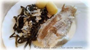 la cuisine de mes envies filet de poisson à la crème et ses haricots de la mer ma cuisine