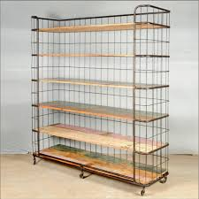 Bakers Rack Wrought Iron Furniture Simple Metal Bakers Rack With Understated Look Fits