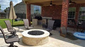 Fire Pit Rotisserie by 5 Outdoor Kitchen Types You Can Install