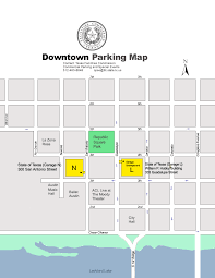 The Domain Austin Map by Commercial Parking And Special Events Mystery Parker Program