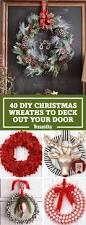 How To Decorate A Christmas Wreath 40 Diy Christmas Wreath Ideas How To Make A Homemade Holiday