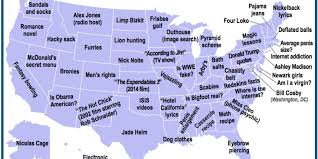 United States Of America State Map by America U0027s Most Shameful Google Searches State By State The