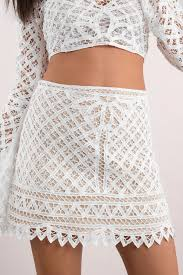 lace skirt to you white lace skirt 42 tobi us