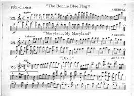 The Bonnie Blue Flag Index Of Scanned The Bonnie Maryland Dixie