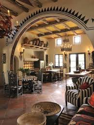 southwest style homes southwestern style homes kitchen room with archway and decorative