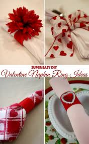 easy napkin ring ideas frugelegance