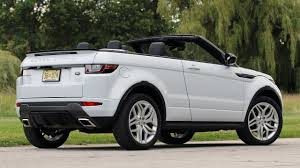 land rover bmw first drive 2017 land rover range rover evoque convertible