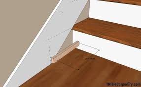 Laminate Flooring Installation On Stairs Scribing Skirt Boards Thisiscarpentry