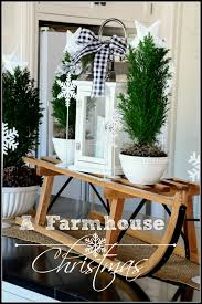 Christmas Kitchen Decorating Ideas by A Farmhouse Christmas Stonegable