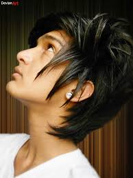 ideas of funky emo boy u0027s hairstyles for christmas hairzstyle com