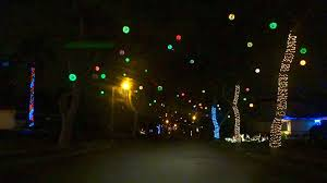 Sparkle Christmas Lights by Fullerton Neighborhood Of Sparkle Balls W Cotton Jones