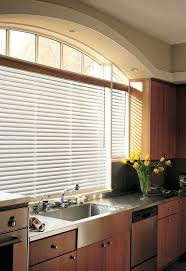 window blinds kitchen window treatments in mi blinds lowes have a big kitchen window and not sure what to do with it hunter natural metal