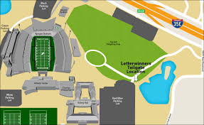 Unt Campus Map Tailgate North Texas Letterwinners Association Mean Green For