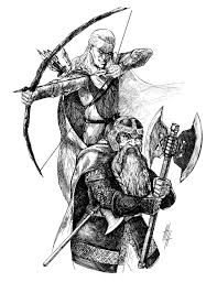 eugene napadovskiy the lord of the rings illustrations