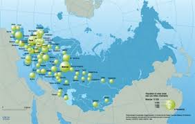 european russia map cities major cities in europe russia and nis with one million