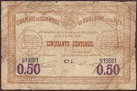 chambre de commerce boulogne sur mer boulogne sur mer chambre de commerce 50 centimes 1914 note