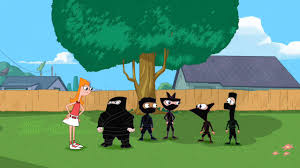 image pnf ninjas jpg phineas and ferb wiki fandom powered by