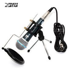 microphone de bureau professionnel commutateur dynamique filaire microphone de bureau