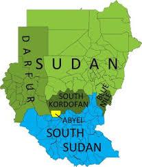 africa map khartoum sudan map after separation search africa